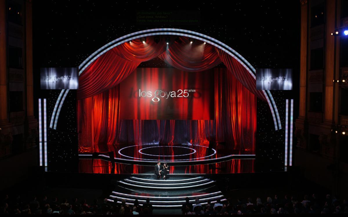25º Aniversario de los Premios Goya