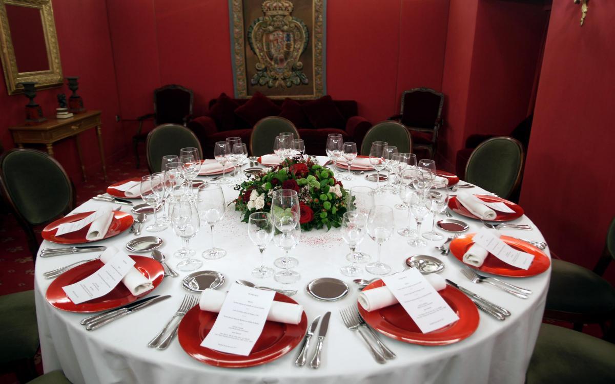 Cena privada para once personas