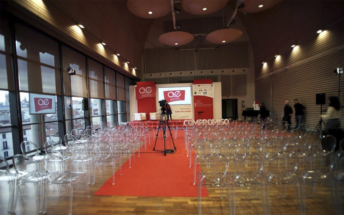 Evento en la Sala de Orquesta